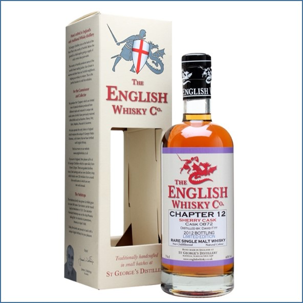 English Whisky Co. Chapter 12 Sherry Cask 70cl 46%