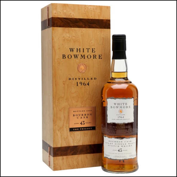 White Bowmore 43 Year Old 1964 70cl 42.8%