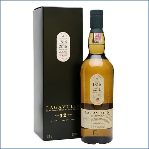 LAGAVULIN 12 YEAR OLD Bot.2016 16th Release 70cl 57.7% 收購拉加維林12年  2016