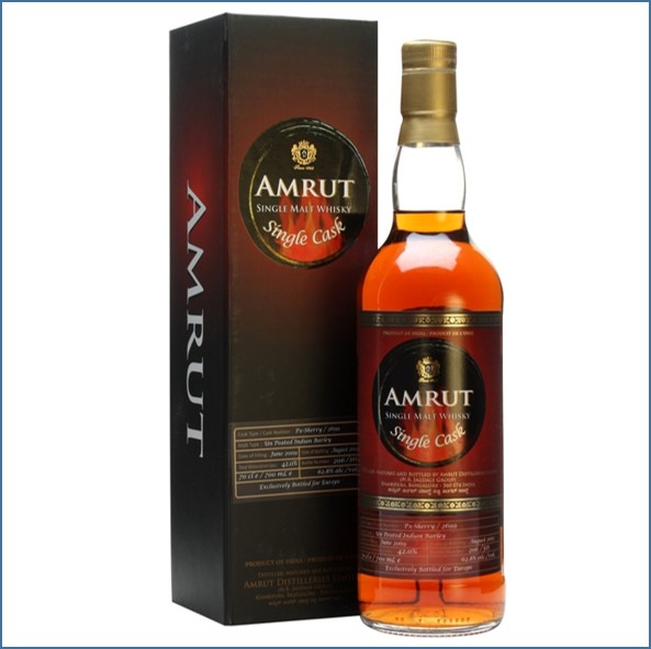 Amrut 2009 Pedro Ximenez Cask #2699 Indian Single Malt Whisky 70cl 62.8%