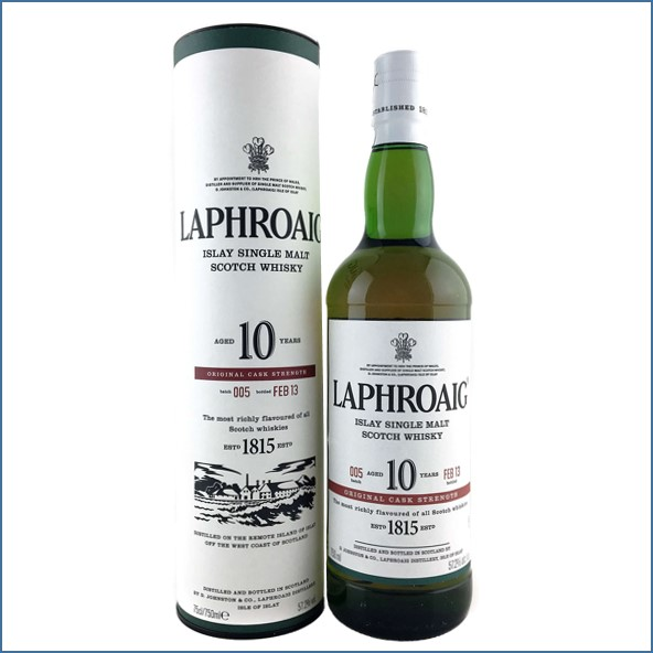 拉佛格10年原酒收購 Laphroaig 10 Year Old Cask Strength Batch 005 Bot.2013 70cl 57.2%