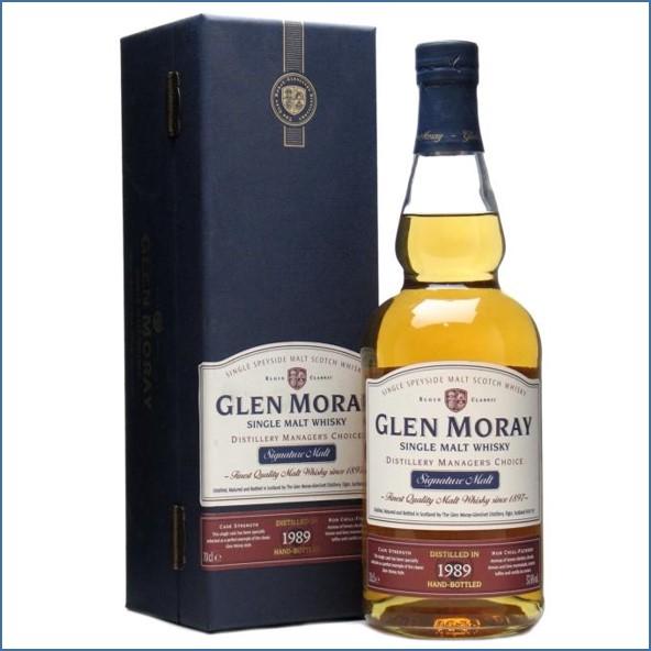 Glen Moray 1989 Distillery Manager's Choice 70cl 57.6%