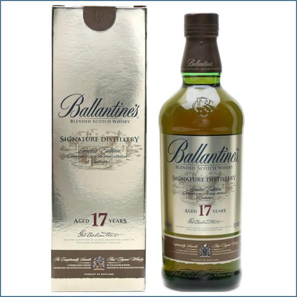 Ballantine's 17 Year Old signature Distillery -Glenburgie  70cl 40%