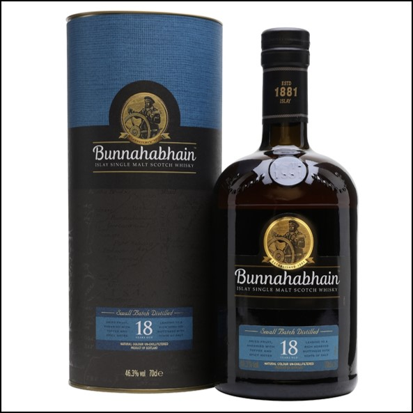 Bunnahabhain 18 Year Old 70cl 46.3%