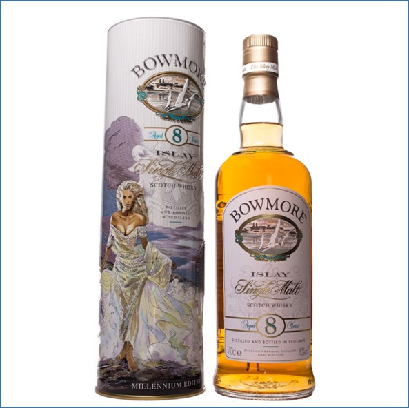 Bowmore 8 Year Old The legend of the Princess 70cl 40%