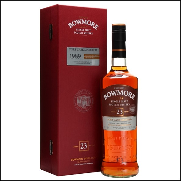 Bowmore 23 Year Old 1989 Port Cask Matured 70cl 50.8%