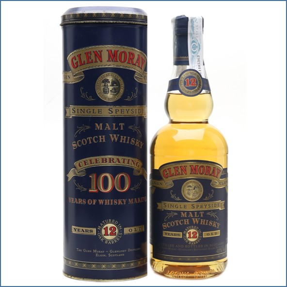 Glen Moray 12 Year Old 100 Years Of Whisky Making 70cl 40%