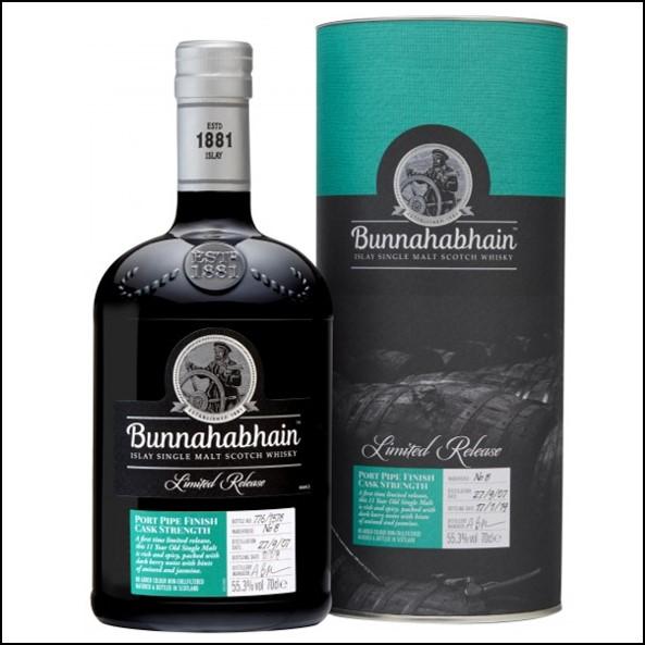 Bunnahabhain 11 Year Old 2007 Port Pipe Finish 70cl 55.3%