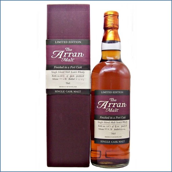 Arran Finished in a Port Cask 70cl 57.4%