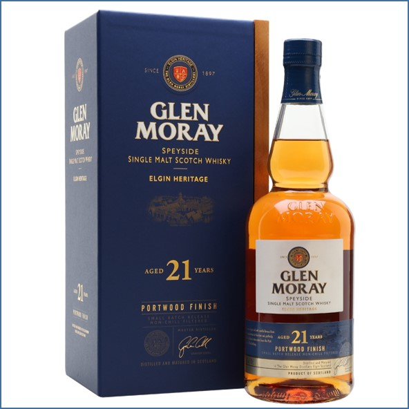Glen Moray 21 Year Old Port Wood Finish 70cl 46.3%