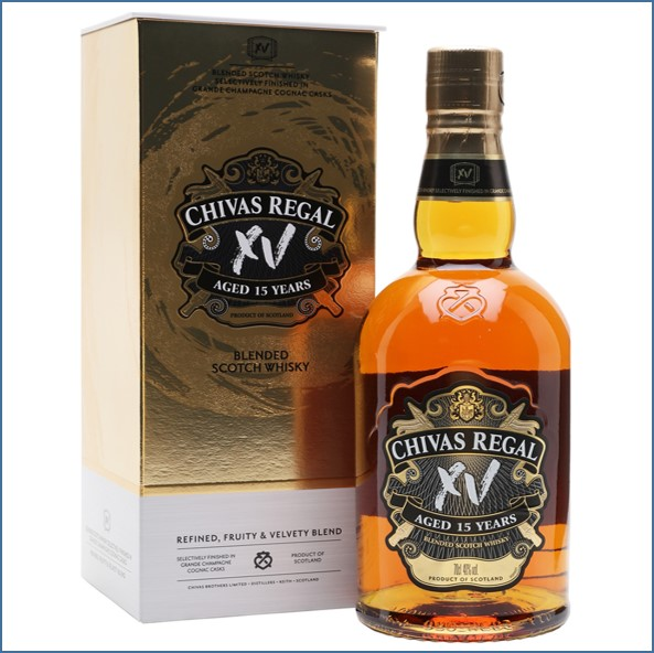 Chivas Regal 15 Year Old XV Blended Scotch Whisky 70cl 40%