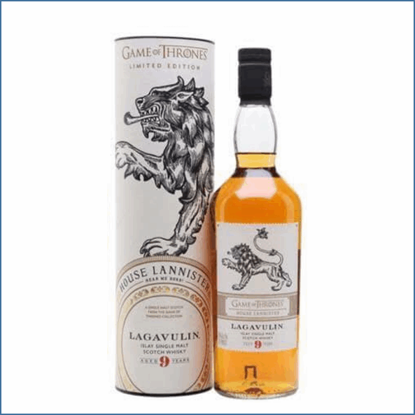LAGAVULIN 9 YEAR OLD Game-Of-Thrones Bot.2018 70cl 46% 拉加維林9年收購