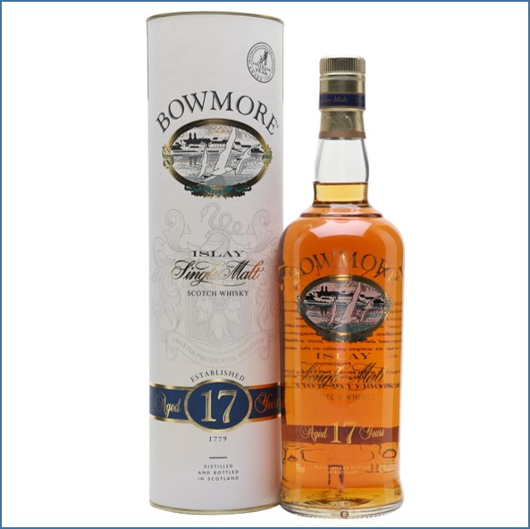 Bowmore 17 Year Old Bot.1990s Screen Printed 75cl 43%