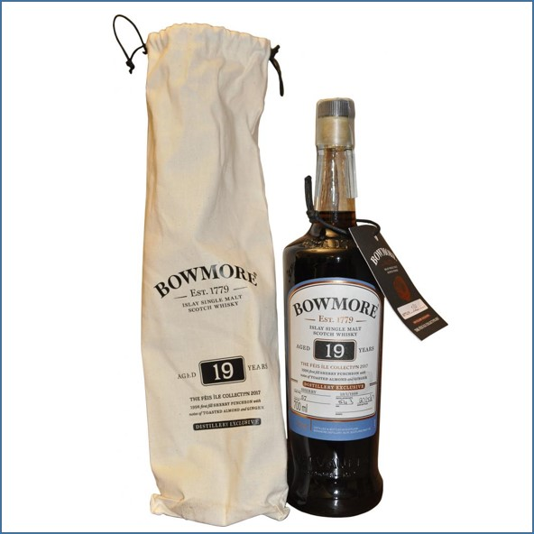 Bowmore 19 Year Old 1998 Hand Filled  Feis Ile 2017 70cl 54.3%