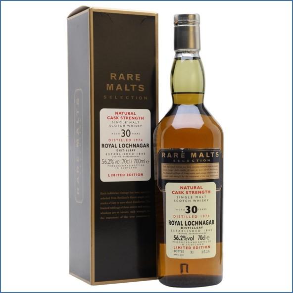 Royal Lochnagar 1974 30 Year Old Rare Malts 70cl 56.2%