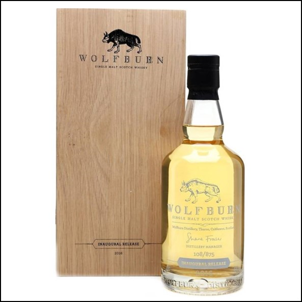 Wolfburn 3 years old Inaugural Release 2016 70cl 46%