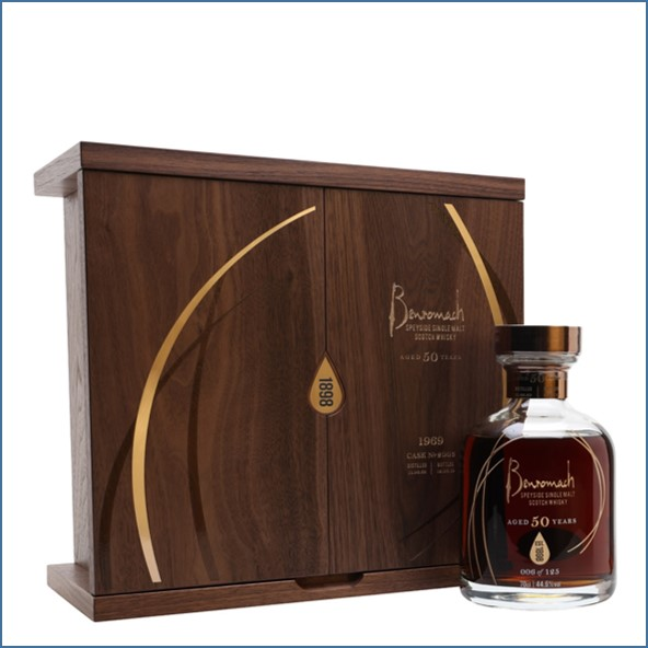 Benromach 1969 50 Year Old Sherry Cask 70cl 44.6%