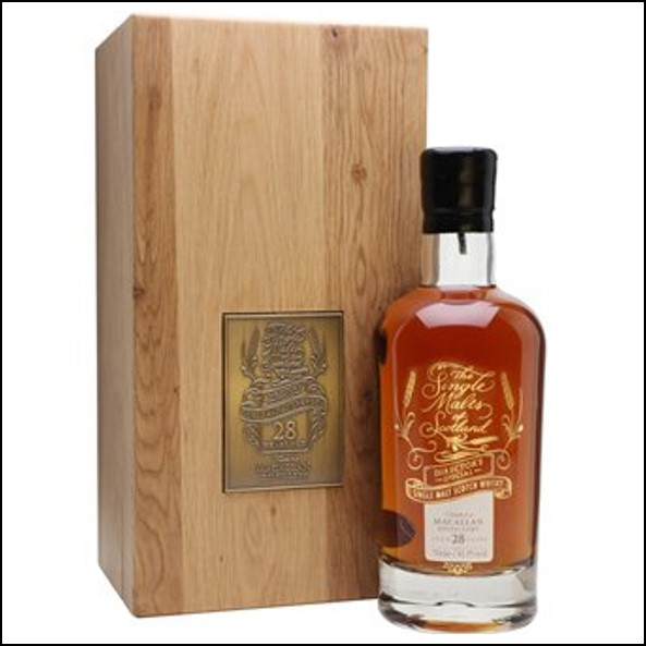 Macallan 28 Year Old Sherry Cask Director's Special Exclusive Speyside Single Malt Scotch Whisky Elixir Distillers 70cl 41.9%