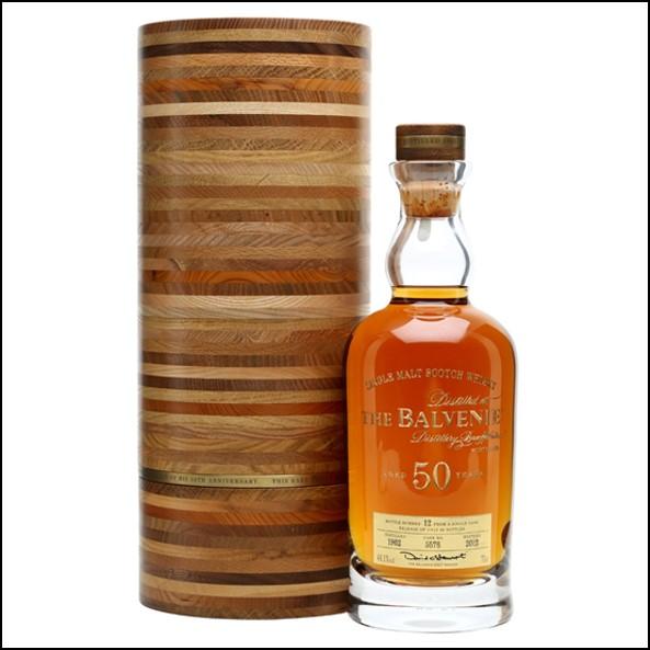 Balvenie 50 Year Old Batch 1 Marriage 0962 70cl 41.6%