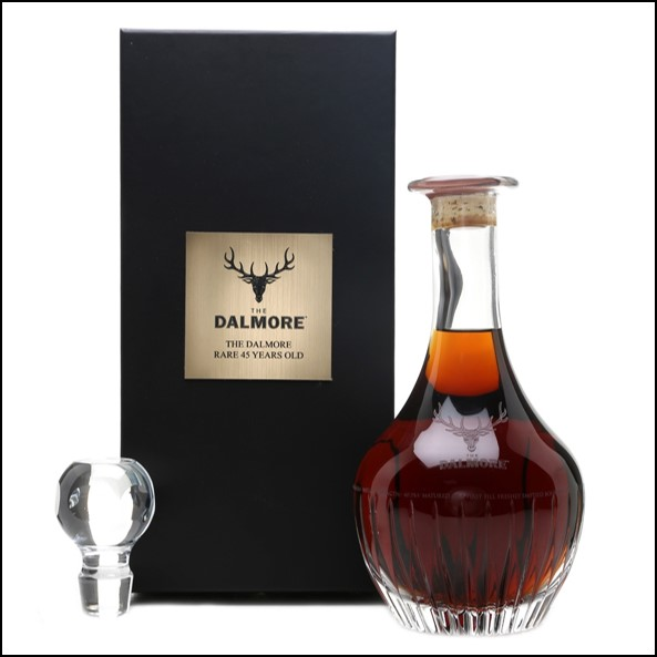 DALMORE 45 YEAR OLD 1973 Release 70cl 40.2% 大摩45年威士忌收購 1973