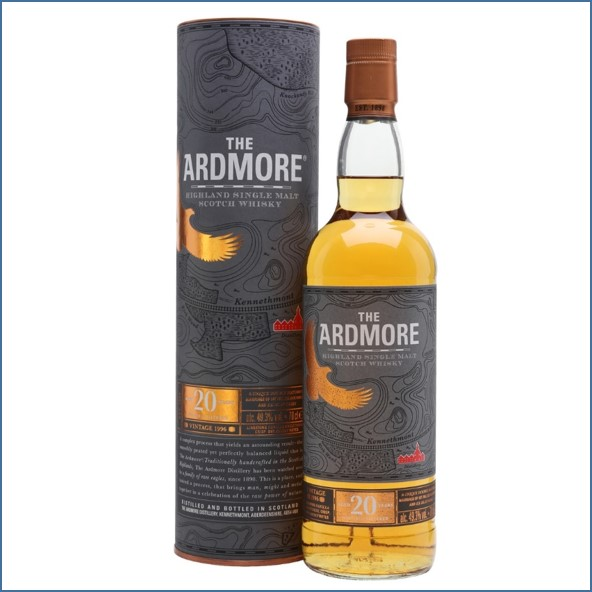 Ardmore 20 Year Old 1996 Highland Single Malt Scotch Whisky 70cl 49.3%