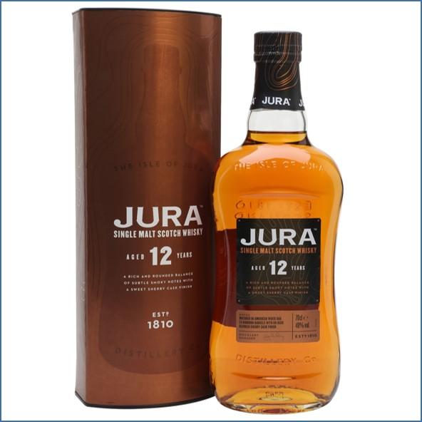 Jura 12 Year Old Island Single Malt Scotch Whisky 70cl 40%
