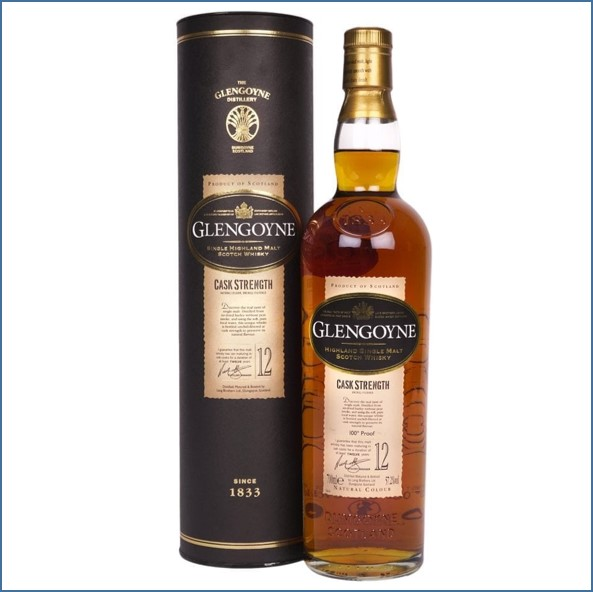 Glengoyne 12 Year Old  Cask Strength  100 Proof 70cl 57.2%