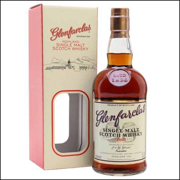 Glenfarclas 10 Year Old  2007 Marriage of Casks TWE Exclusive 70cl 51.1%