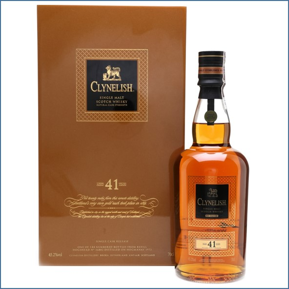 Clynelish 1973 The Hogmanay Cask 41 Year Old - Wealth Solutions 70cl 45.2%