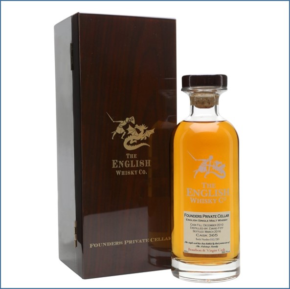 The English Whisky Co. Founders Private Cellar Virgin Oak 70cl 59.7%