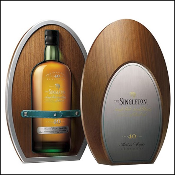 The Singleton of Glen Ord 40-year-old 70cl 40% 蘇格登40年Glen Ord收購