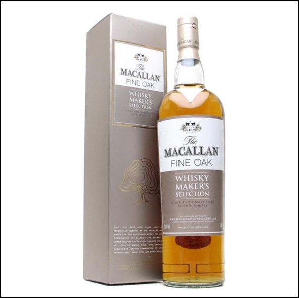 收購麥卡倫 酒廠精選/Macallan Fine Oak Whisky Maker's Selection 100cl 42.8%
