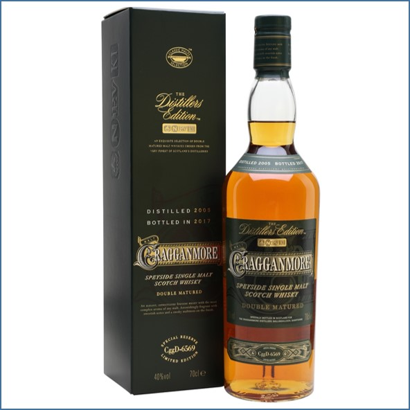 Cragganmore 2017 Distillers Edition 2005  Speyside Single Malt Scotch Whisky 70cl 40%