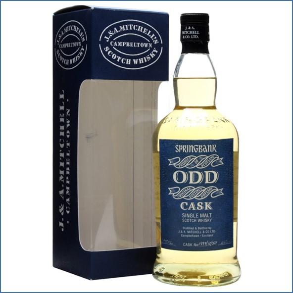 雲頂威士忌12年收購ODD/Springbank 12 Year Old ODD Fresh Rum Cask # 377 1999 Campbeltown Single Malt Scotch Whisky 70cl 46%