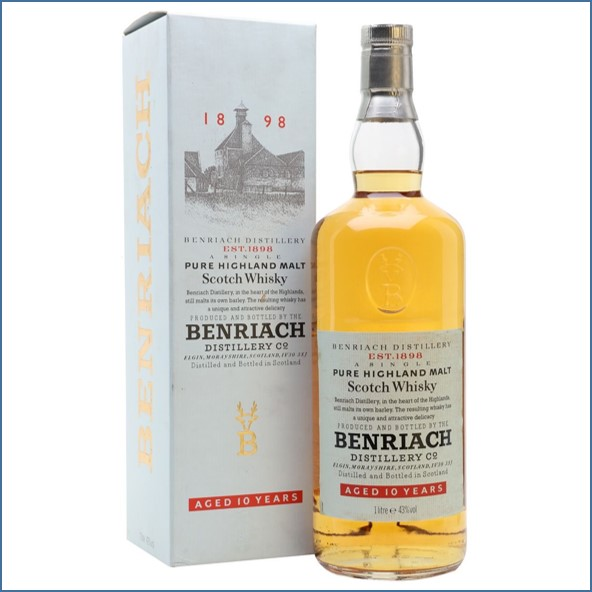 Benriach 10 Year Old  Bot.1990s 100cl 43%