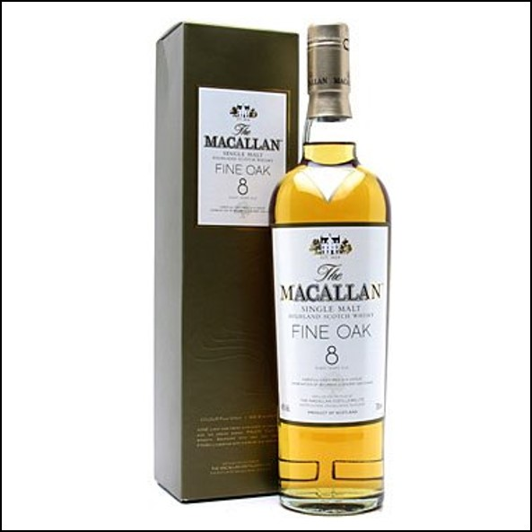 麥卡倫8年 Macallan Fine Oak 8 Year Old 70cl 40%