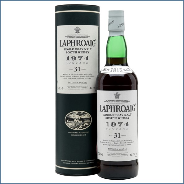 Laphroaig 31 Year Old 1974 Sherry Cask 70cl 49.7%