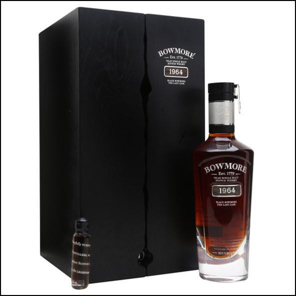 Black Bowmore  50 Year Old 1964 The Last Cask 75cl 41%