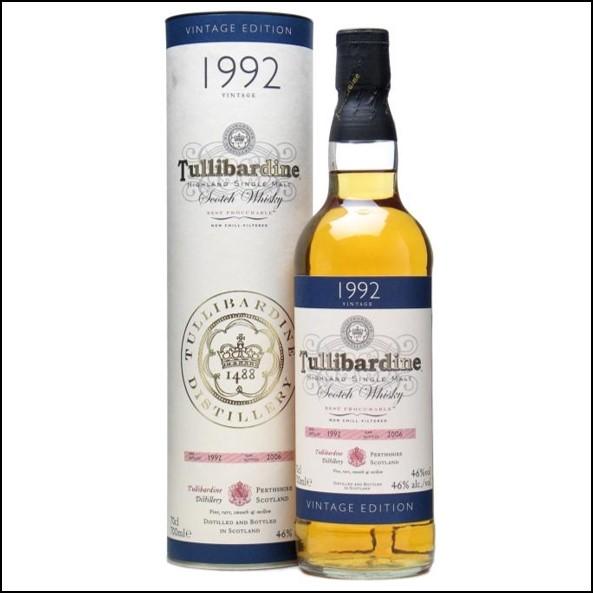 Tullibardine 1992 70cl 46%