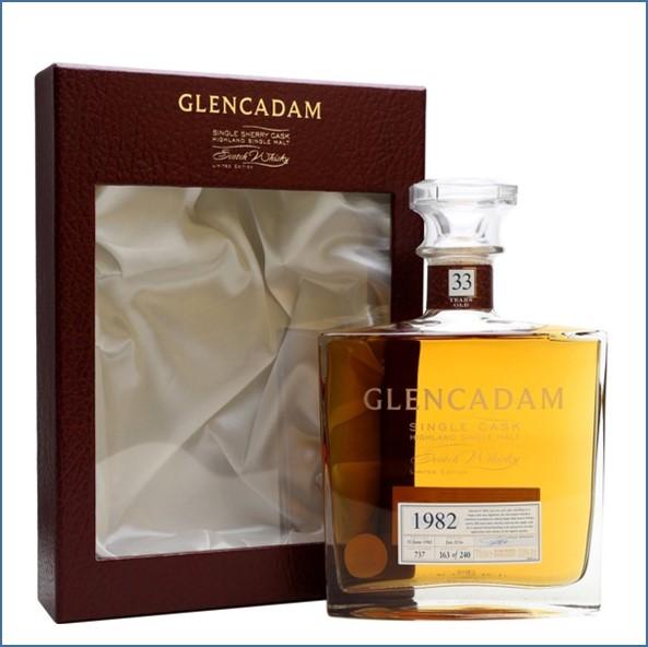 Glencadam 33 Year Old 1982 70cl 53%