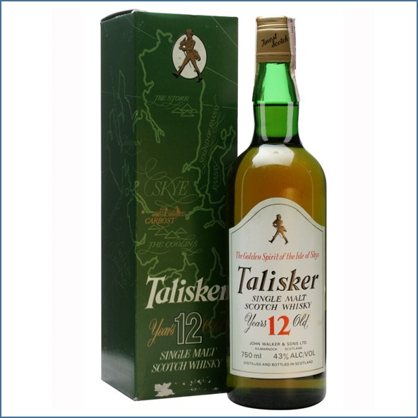 Talisker 12 Year Old Bot.1980s 75cl 43.0%