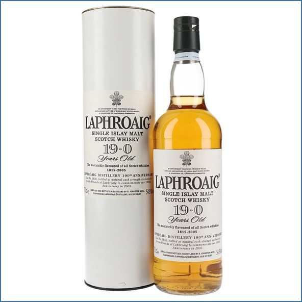 Laphroaig 19 Year Old 190th Anniversary 70cl 54.9%