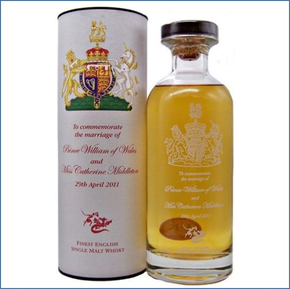 English Whisky Co. The Marriage of Prince William & Catherine Middleton 70cl 46%