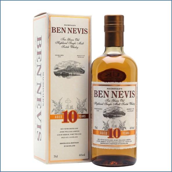 Ben Nevis 10 Year Old 70cl 46%