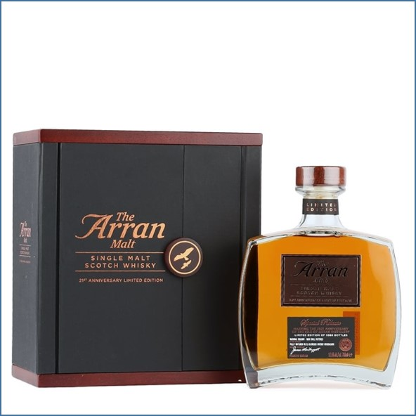 Arran 21st Anniversary Limited Edition  70cl 52.6%