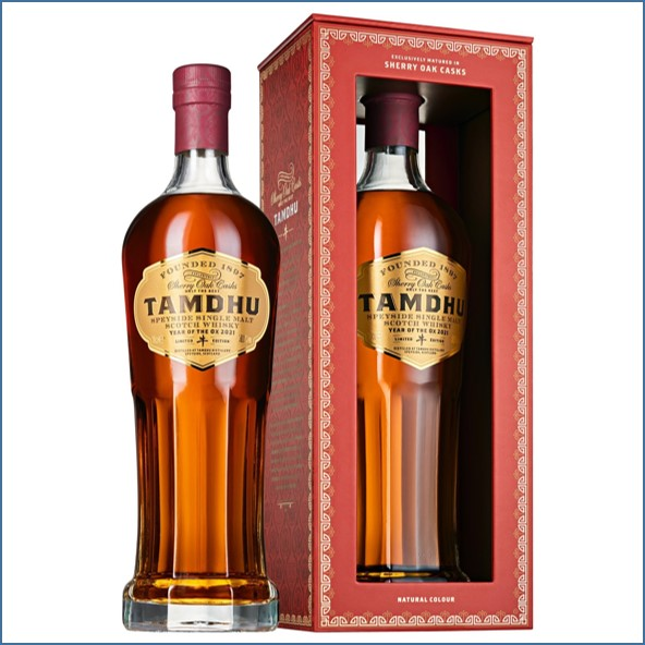 Tamdhu Sherry Oak 2021 70cl 58% 牛年紀念酒
