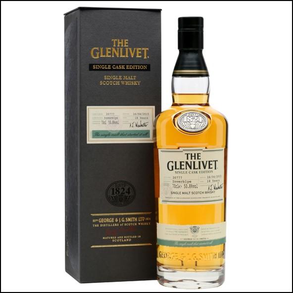 Glenlivet 18 Year Old Inverblye Single Cask #30777 70cl 50.8%