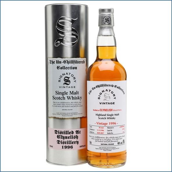 Clynelish 1996 20 Year Old 2017 Sherry Cask Signatory Highland Single Malt Scotch Whisky 70cl 46%