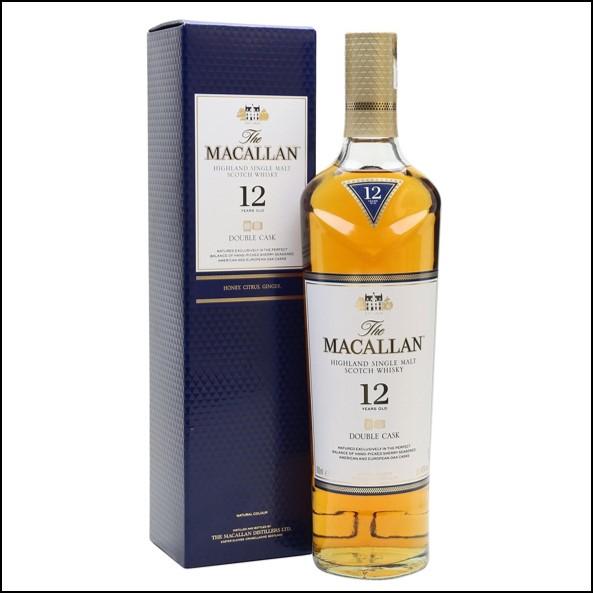 收購麥卡倫12年雙桶/Macallan Double Cask 70cl 40% 2018