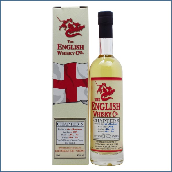English Whisky Co. Chapter 5 Miniature  2006 3 year old